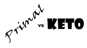 Primal vs Keto 2